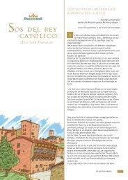 Sos del Rey Católico und sein Parador [broschüre] - Paradores