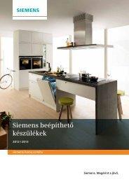 Siemens beépíthető készülékek - Siemens Home Appliances