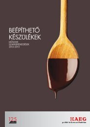 2012-2013 AEG ELECTROLUX katalógus www.parafalo.hu ...