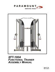 XFT-100A - Paramount Fitness