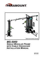 MS-5000 - Paramount Fitness