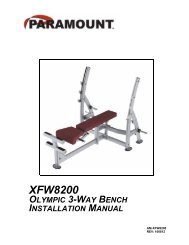AM-XFW8200_first production run.pdf - Paramount Fitness