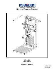 SF-0400 Multi Hip - Paramount Fitness