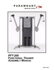 AM-PFT-200A - Paramount Fitness