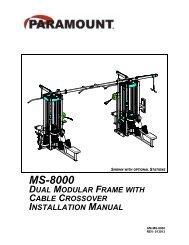 MS-8000 - Paramount Fitness