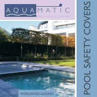 Aquamatic safety cover brochure 2013 - Paramount Pools