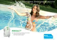 Mini Salt - Pool Tech brochure - Paramount Pools