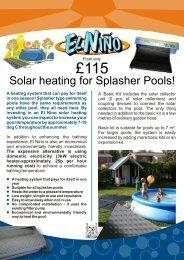 El Nino A4 Leaflet FINAL - Paramount Pools