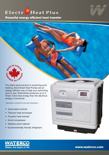 Waterco Brochure - Splash and Relax