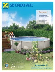 Impact Brochure from Vogue - Paramount Pools