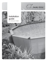 Installation guide - Paramount Pools