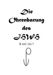 Die Ohrenbarung des JHWH - Paranormal Deutschland eV