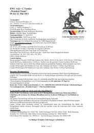 Ausschreibung Wenden Classic 2013 7 2 - ParaWesternReiter eV