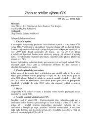 27. ledna 2011 - Česká parazitologická společnost