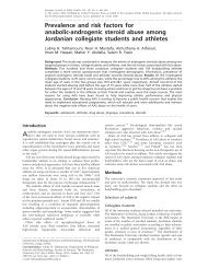 Prevalence and risk factors for anabolic-androgenic steroid abuse ...