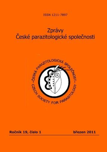 Zprávy České parazitologické společnosti - Česká parazitologická ...