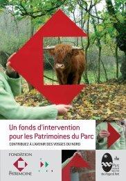 Grand public - Parc naturel régional des Vosges du Nord