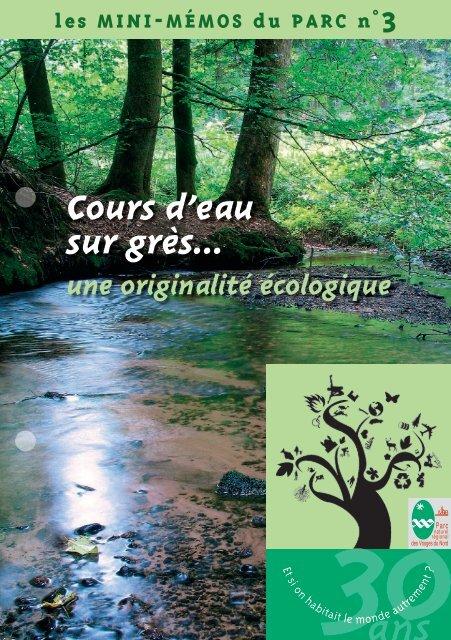 Cours d'eau sur grès… - Parc naturel régional des Vosges du Nord