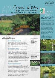Les cours d'eau - Parc naturel régional des Vosges du Nord