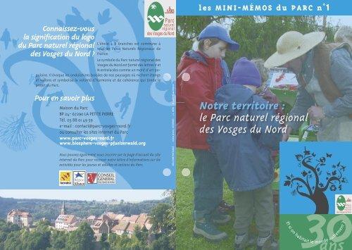 Numéro 1 - Parc naturel régional des Vosges du Nord