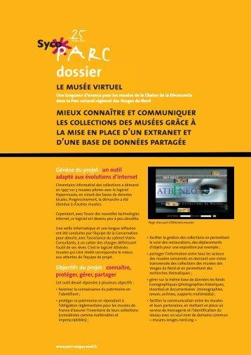 DOSSIER 25 - Parc naturel régional des Vosges du Nord