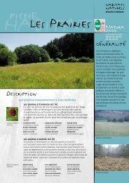 Les prairies - Parc naturel régional des Vosges du Nord