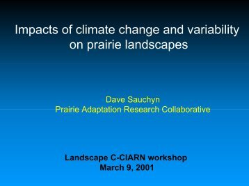 View PDF File (3 Mb) - Prairie Adaptation Research Collaborative