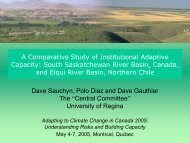 A Comparative Study of Institutional Adaptive Capacity: South ...