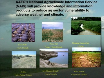 A National Agroclimate Information Service for Agriculture and Agri ...