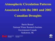 Atmospheric Circulation Patterns Associated with the 2001 and ...