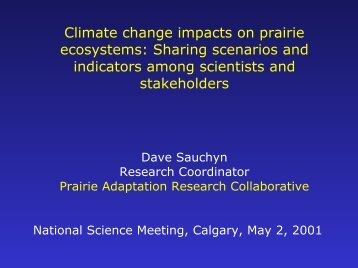 View PDF File (5 Mb) - Prairie Adaptation Research Collaborative