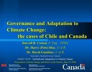 Governance - Prairie Adaptation Research Collaborative