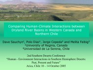 Comparing Human-Climate Interactions between Dryland River ...
