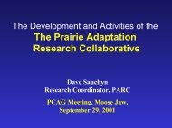View PDF File (2 Mb) - Prairie Adaptation Research Collaborative