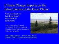 Keynote Presentation (PDF File 4 Mb) - Prairie Adaptation Research ...