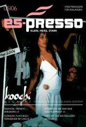KONSUM: FLACHBILD- FERNSEHER IM CHECK 39 ... - Es-Presso