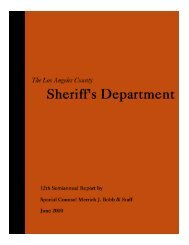June 00 Report _ text - Police Assessment Resource Center