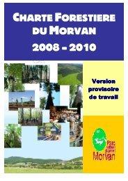 Projet CFT2008-2010 - Parc naturel régional du Morvan