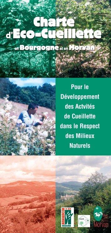 Charte Eco-cueillette - Parc naturel régional du Morvan