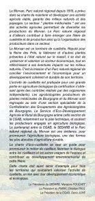 Charte Eco-cueillette - Parc naturel régional du Morvan - Page 2