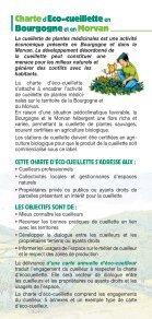 Charte Eco-cueillette - Parc naturel régional du Morvan - Page 3