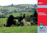 Bilan 2011 (PDF - 4656 Ko) - Parc naturel régional du Morvan