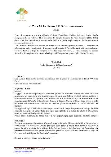 I Parchi Letterari ® Nino Savarese