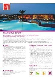 RESIDENCE EDEN - Parc Hotels Italia
