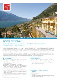HOTEL CRISTINA - Parc Hotels Italia
