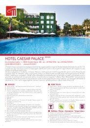 HOTEL CAESAR PALACE - Parc Hotels Italia