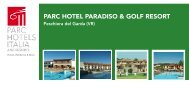 Download .pdf - Parc Hotels Italia