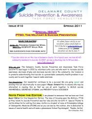 Issue #10 Spring 2011 **Special ISSUE** PTSD, The Military ...