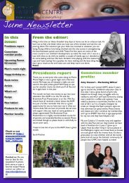 UHPC Newsletter June 2012 - Parents Centres New Zealand Inc