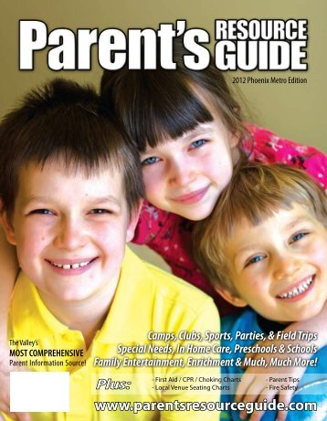 Parent's Resource Guide 2012 Phoenix Metro Edition